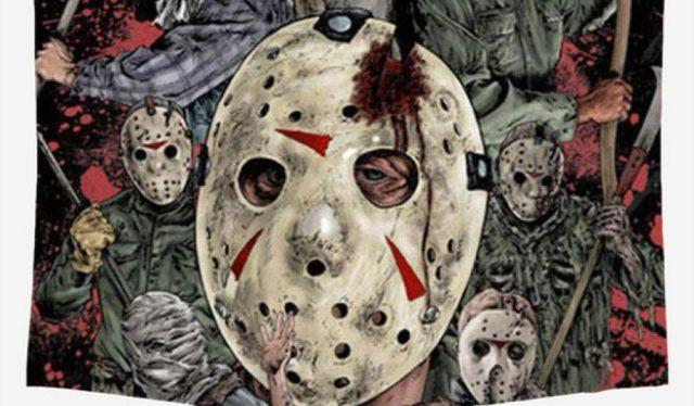 8 On continue avec les films d'horreur avec un grand modèle avec Jason Voorhees. Vous savez le tueur en série dans la saga Vendredi 13
