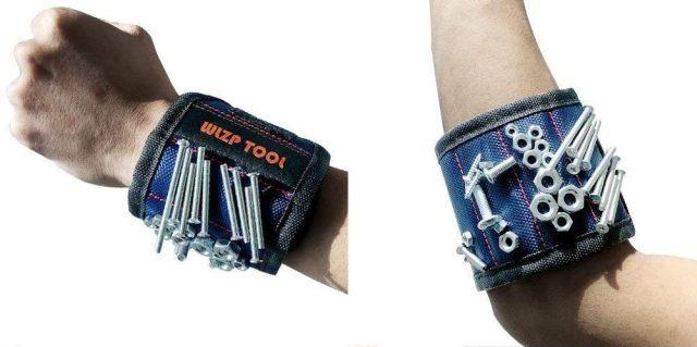 9 Si ton copain est bricoleur, ce bracelet magnétique va lui faire très plaisir. Il ne perdra plus rien quand il montera vos meubles Ikea