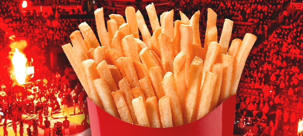 McDonald's offre 2 millions de cornets de frites après avoir perdu un pari !