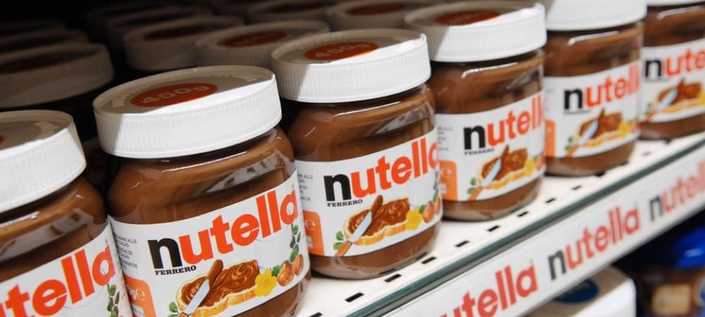 Nutella, Kinder: grosse pénurie à prévoir dans les jours à venir !