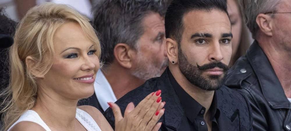 Pamela Anderson séparée d'Adil Rami le footballeur est désespéré !