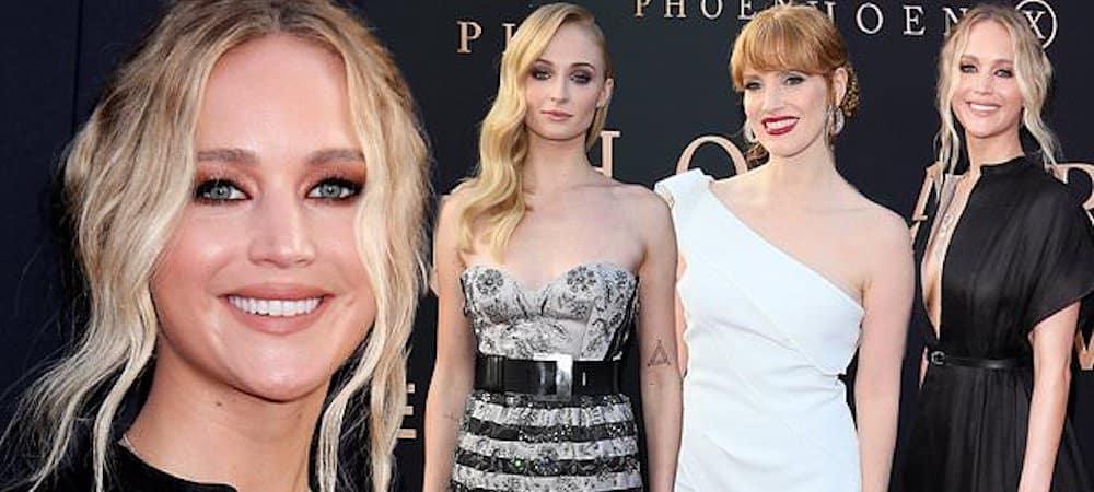 X-Men Dark Phoenix: Jennifer Lawrence et Sophie Turner très sexy pour l'avant-première !