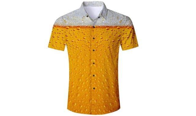 15 Ne passez plus inaperçu avec cette chemise binouze, cap ou pas cap de la mettre