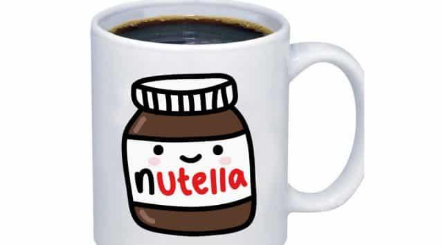 19 Et si tu buvais ton thé ou ton café dans un mug aux couleurs de ta pâte à tartiner préférée