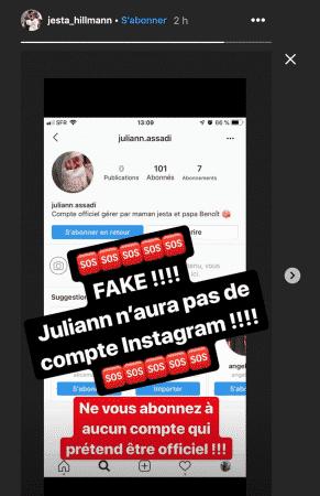 Jesta (Koh-Lanta) tout juste maman: un faux compte Instagram la met hors d'elle !