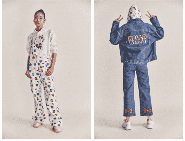 Quand Levi's collabore avec Hello Kitty: la collection street et girly ! (PHOTOS)
