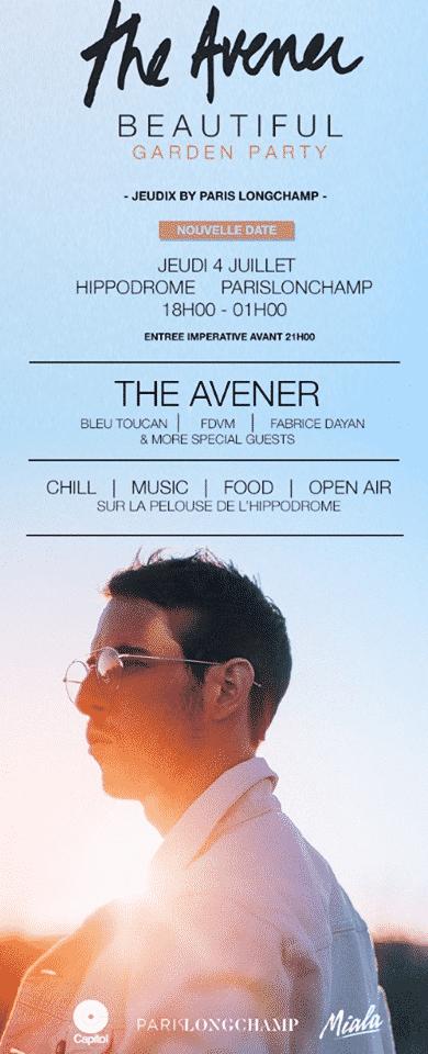 Flyer The Avener