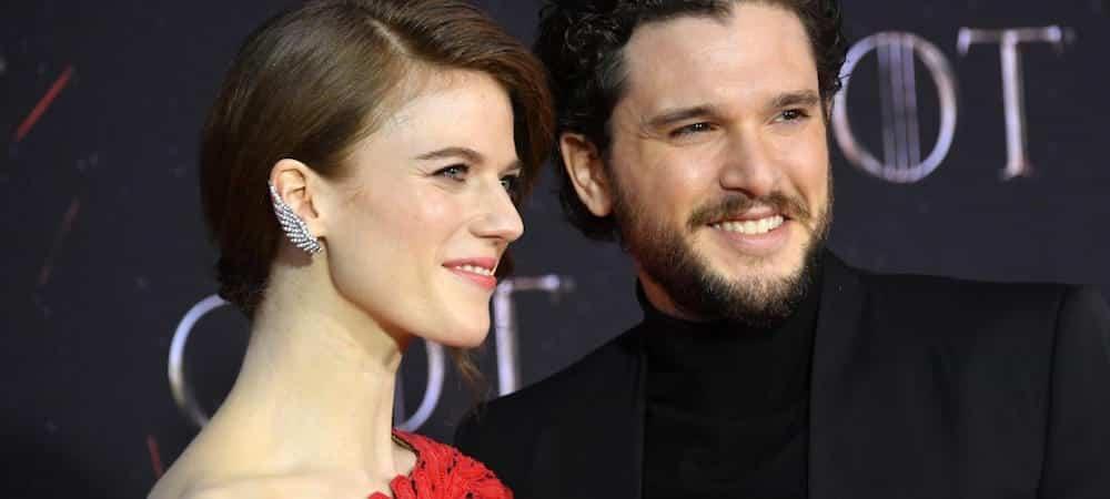 Kit Harington (Game of Thrones) fête sa première année de mariage avec Rose Leslie !