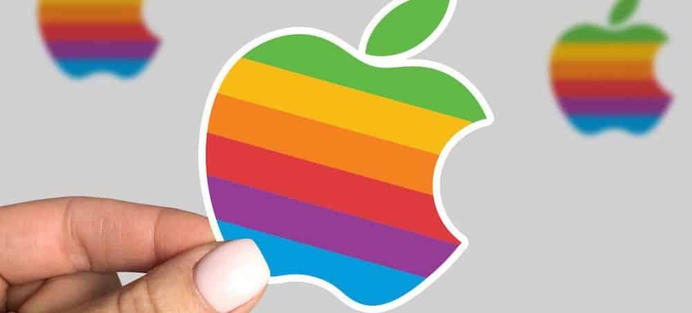 Apple: le logo arc-en-ciel bientôt de retour sur les produits de la marque ?