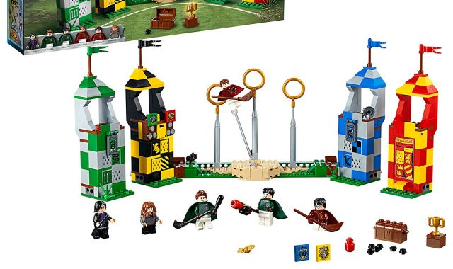 60 Et si vous reconstituiez un match de Quidditch avec Harry Potter tout en Lego