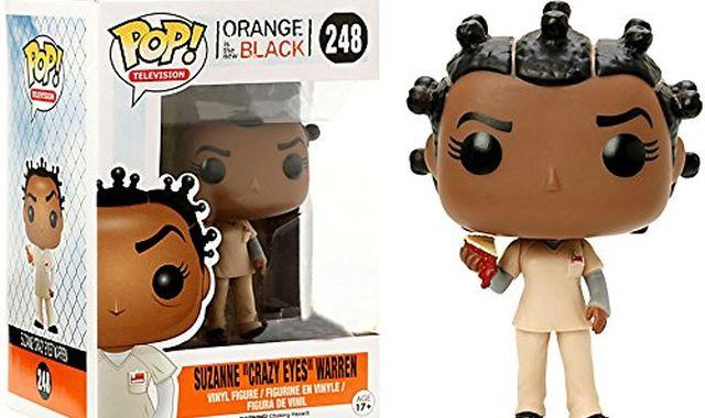 7 Votre préférée c'est Suzanne dans Orange is the New Black, offrez vous cette petite figurine trop mimi