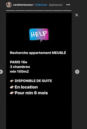 Caroline Receveur bientôt de retour à Paris ? Elle cherche un appartement ! (PHOTO)
