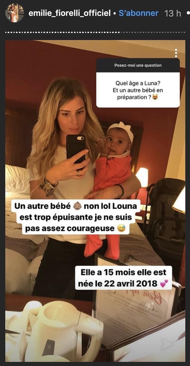 Emilie Fiorelli prête à être de nouveau maman ? Elle répond ! (PHOTO)