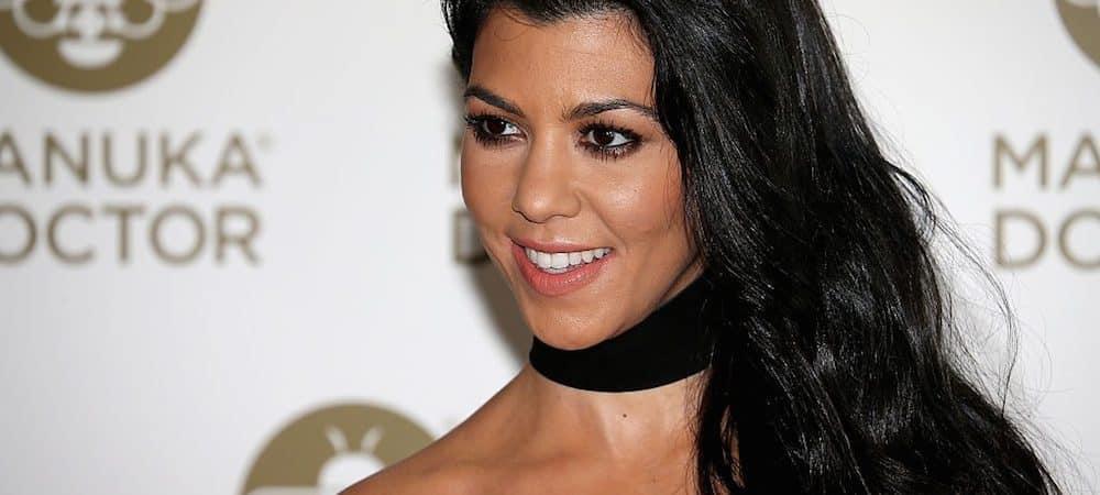 "Kourtney Kardashian en larmes: ""Je suis très reconnaissante"" ! (PHOTO)"
