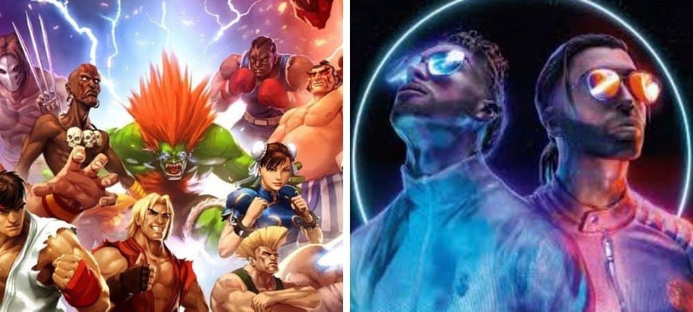 """Street Fighter: le jeu est gratuit pour la sortie du clip """"Blanka"""" de PNL !"""