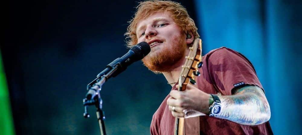 Ed Sheeran réalise la tournée la plus rentable au monde et bat U2 !