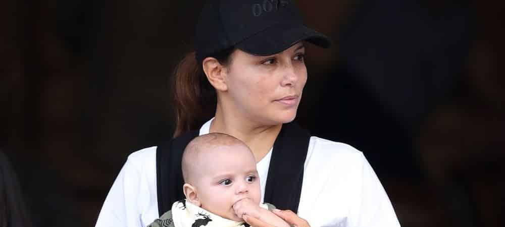 Eva Longoria dévoile les premiers pas de son fils Santiago !
