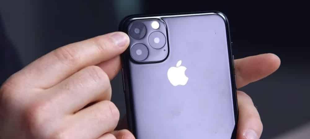 iPhone 11 Pro: Apple promet une meilleure résistance à l'eau et aux chocs !