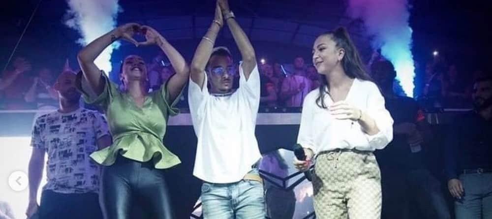 Jazz et Laurent (JLC Family) au showcase d'Eva: ils montent sur scène et mettent le feu ! (VIDEO)