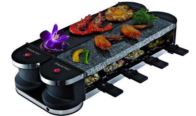 1 Cet appareil multi fonctions te permettra de passer une soirée à manger avec tes potes. Il va y avoir du fromage, de la viande et aussi des légumes au menu