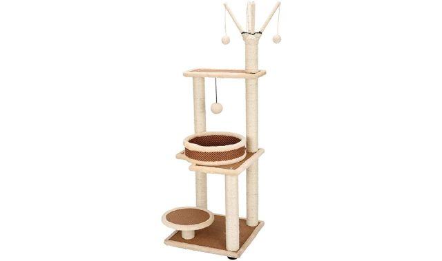 10 Votre chat adorer grimper, il va adorer ce modèle en bois