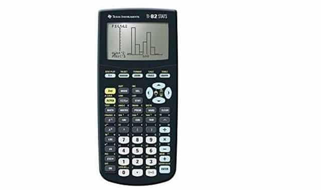14 Vous rentrez au lycée en cette rentrée scolaire 2019, cette Texas Instruments TI 82 calculatrice suffira