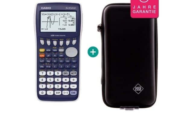 18 La Casio FX-9750GII sera très utile au collège ou en seconde