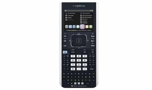 25 Avec cette Texas TI-NSPIRE CX Calculatrice Scientifique Noir vous allez pouvoir tout déchirer en math au lycée. Et aussi après selon vos études