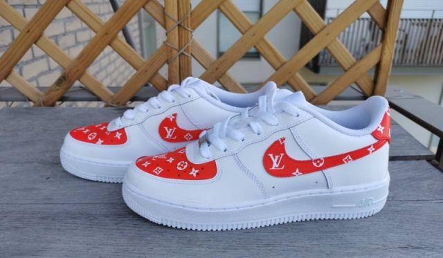 28 Donnez une touche de luxe à votre paire de Nike Air Force. Vous aurez ainsi une paire unique et aussi super classe