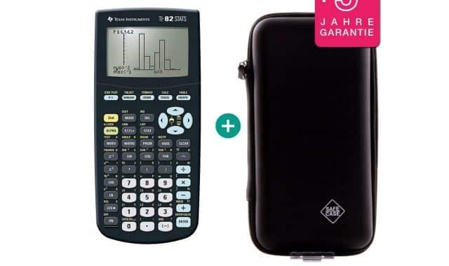 5 Si vous rentrez au lycée, vous pouvez commencer par ce modèle TI-82 STATS