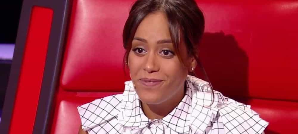 Amel Bent sexy: elle enflamme le plateau de The Voice Kids !