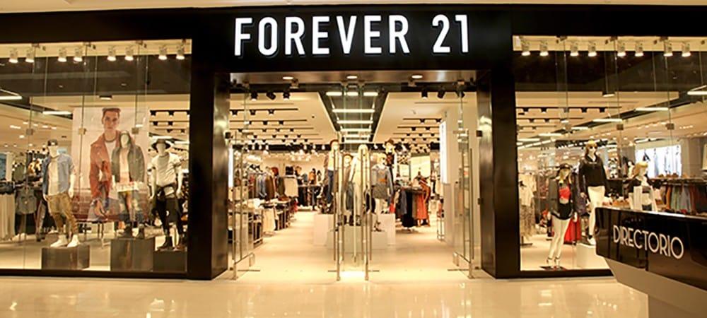 Forever 21: la marque américaine se déclare en faillite !