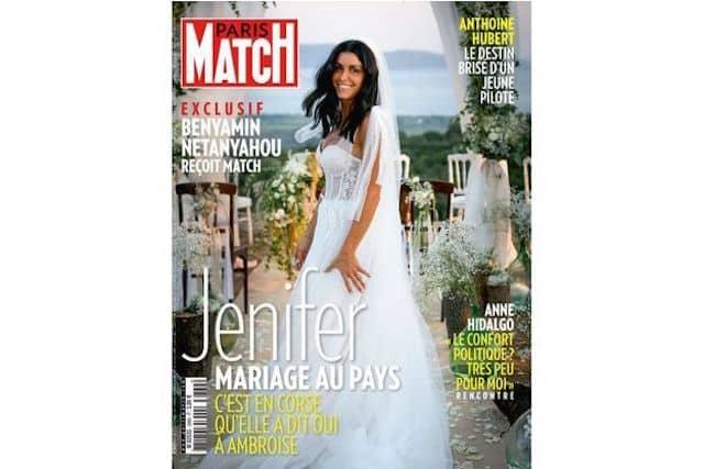 Jenifer mariée: une première photo de sa robe dévoilée