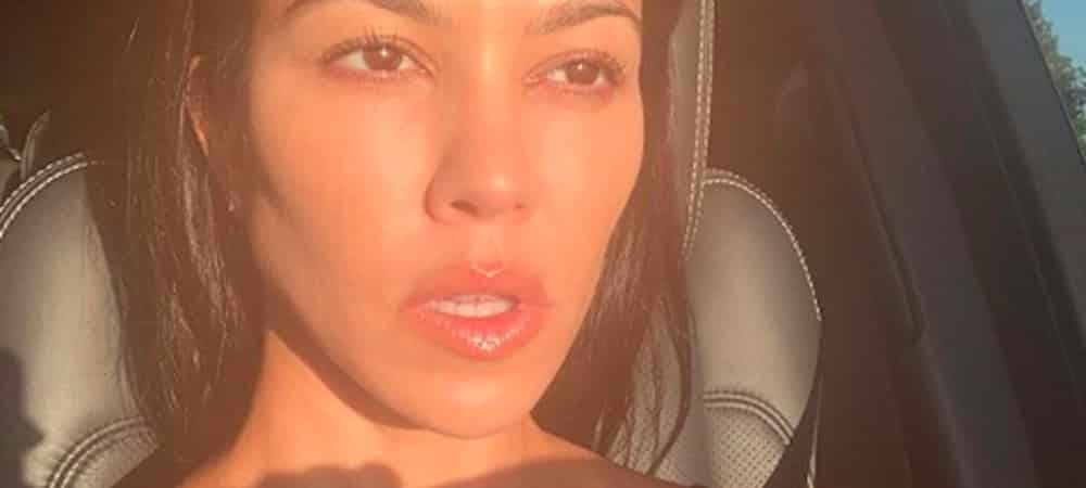 Kourtney Kardashian: quand sa fille Penelope prend l'appareil photo !
