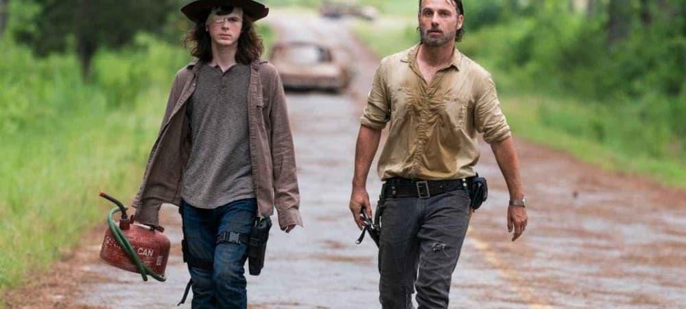 The Walking Dead: les interprètes de Rick et Carl sont toujours en contact !