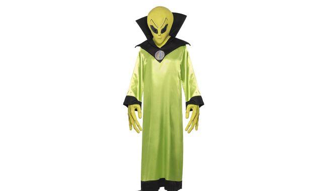 11 Vous voulez passer pour un extraterrestre Ce déguisement d'Alien sera parfait pour votre soirée de l'horreur