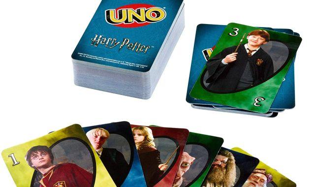 12 Rejoignez Harry, Hermione, Ron et aussi le professeur Dumbledore pour une partie de jeu à UNO
