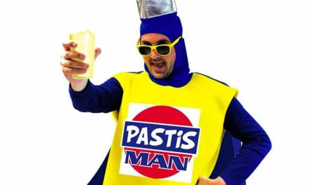 15 Les marseillais vont être contents. Ils vont pouvoir se déguiser en Pastis Man