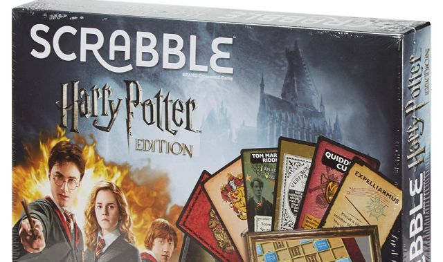 15 Scrabble célèbre le vocabulaire du monde de Harry Potter et ses amis. Que le meilleur gagne