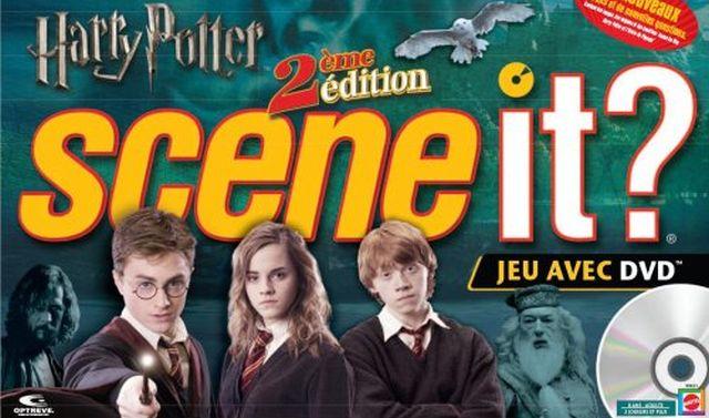 19 Scene It Harry Potter est plus qu'un simple jeu de questions sur l'univers Harry Potter. Utilisez votre mémoire, vos connaissances des livres et aussi des films pour répondre à toutes les questions