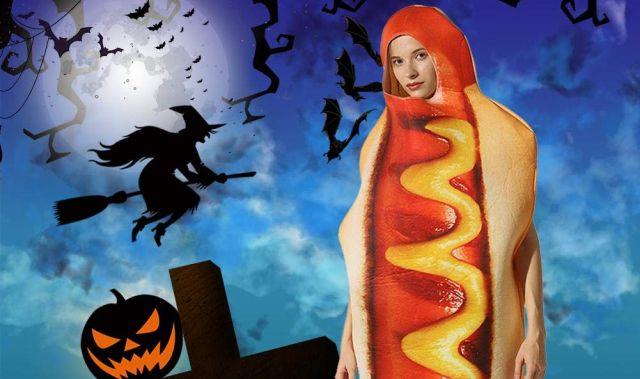 2 Et si cette année pour Halloween, tu tentais le déguisement original du hot dog. Attention à ne pas te faire croquer