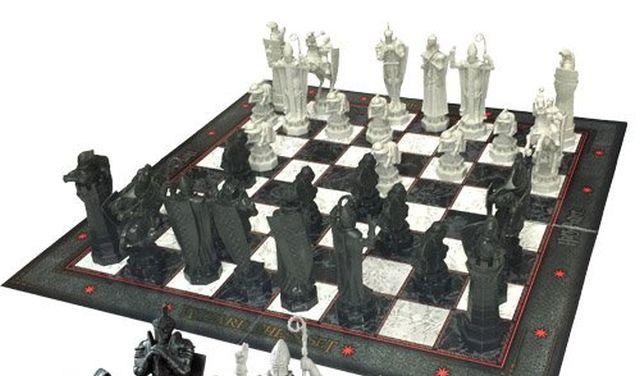 20 Et si vous faisiez une partie d'échecs avec des pions, des tours et aussi des reines inspirés par Harry Potter