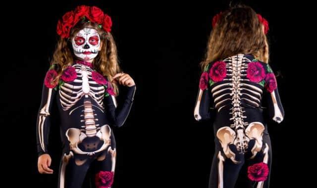26 Ce déguisement squelette terrifiant sera parfait pour cette soirée de l'horreur