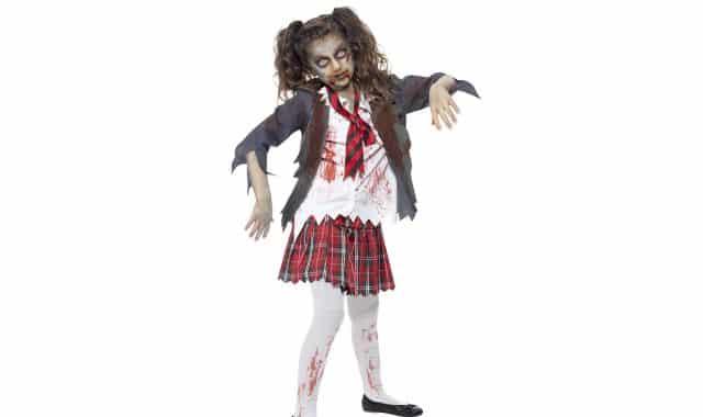 4 Et si vous souhaitez être assorti au prisonnier zombie, il y a aussi l'écolière zombie
