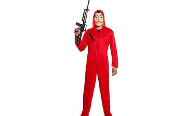 8 C'est un costume très à la mode, et pas que pour Halloween. Devenez un des braqueurs de La Casa de Papel le temps d'une soirée