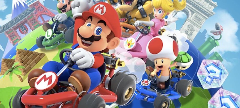 Mario Kart Tour réalise le meilleur lancement mobile de Nintendo !