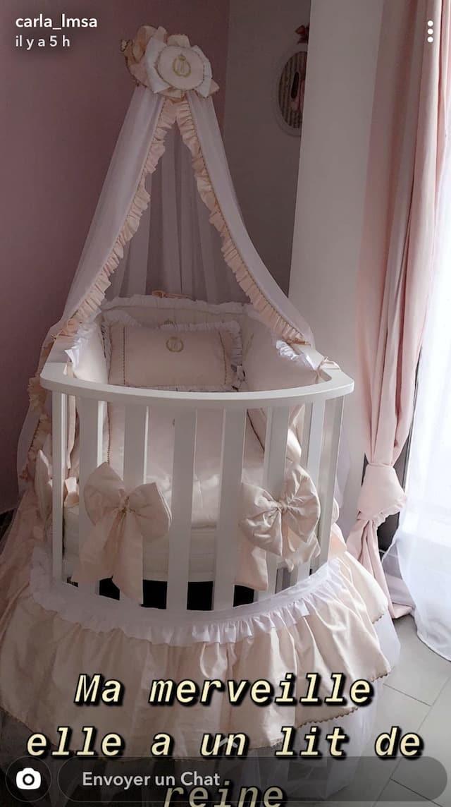 Carla Moreau jeune maman: elle dévoile la chambre de princesse de sa fille Ruby !