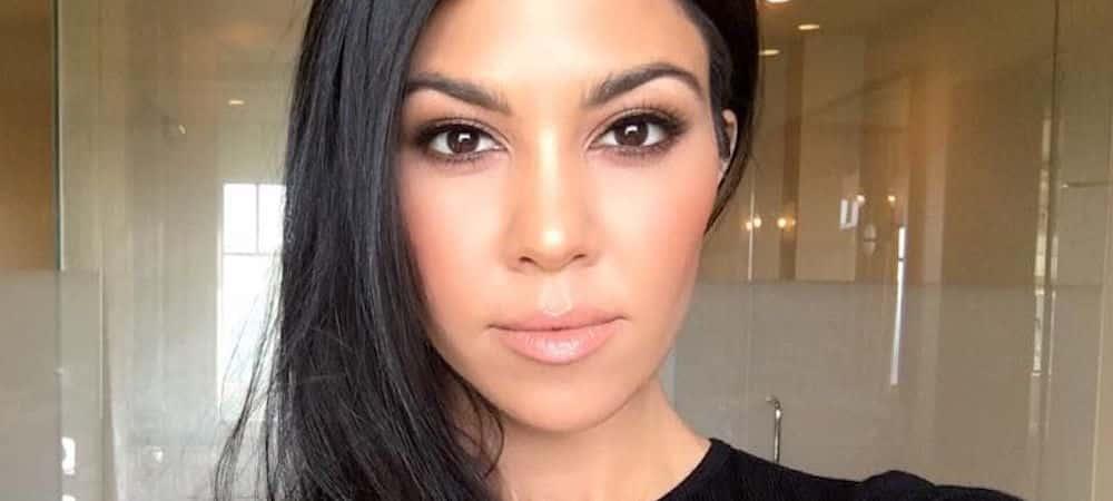 Kourtney Kardashian en famille: elle passe le week-end sous le soleil californien