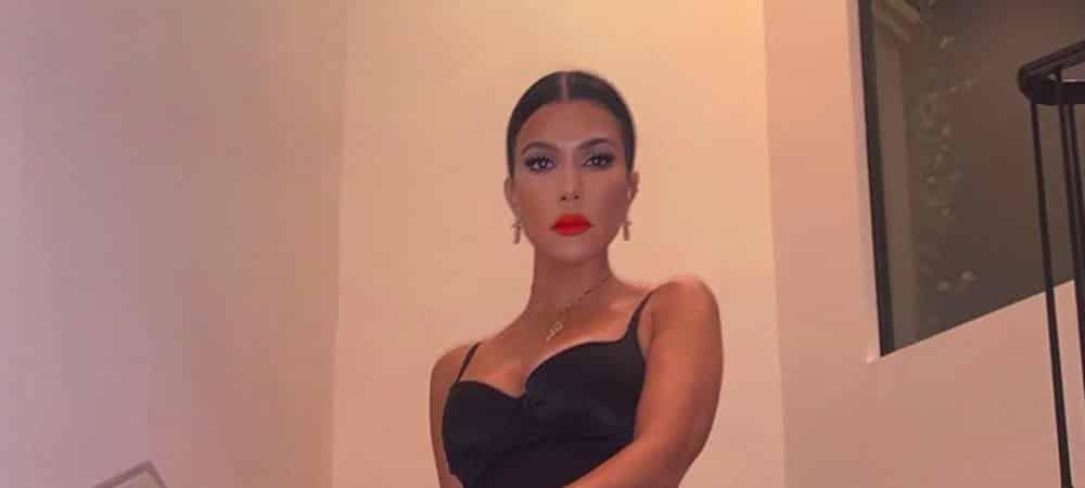 Kourtney Kardashian: son grain de peau parfait fait des envieux ! (PHOTO)