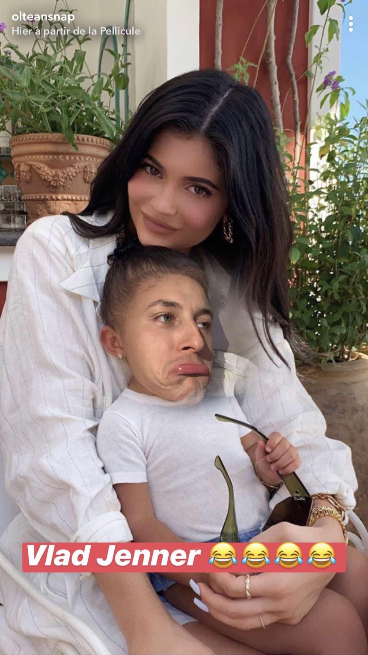 Kylie Jenner: quand Oltean Vlad se transforme en bébé Stormi, la photo hilarante !